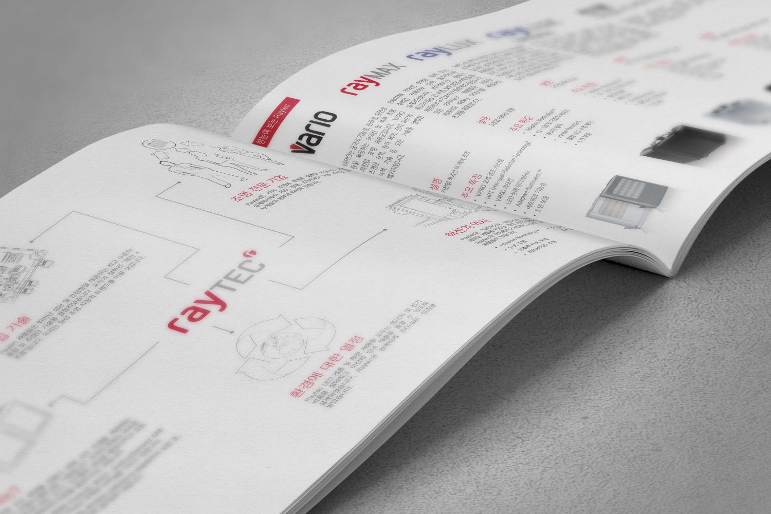 Raytec Brochure - Korean