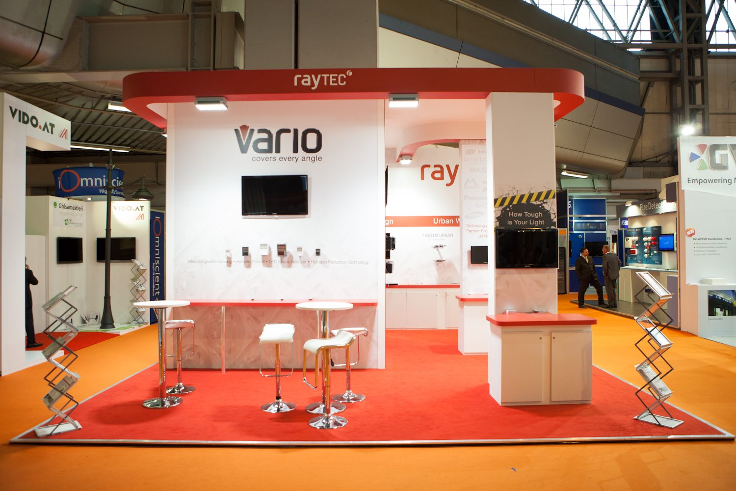 Raytec Exhibition Stand