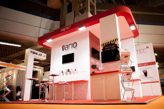 Raytec exhibition stands