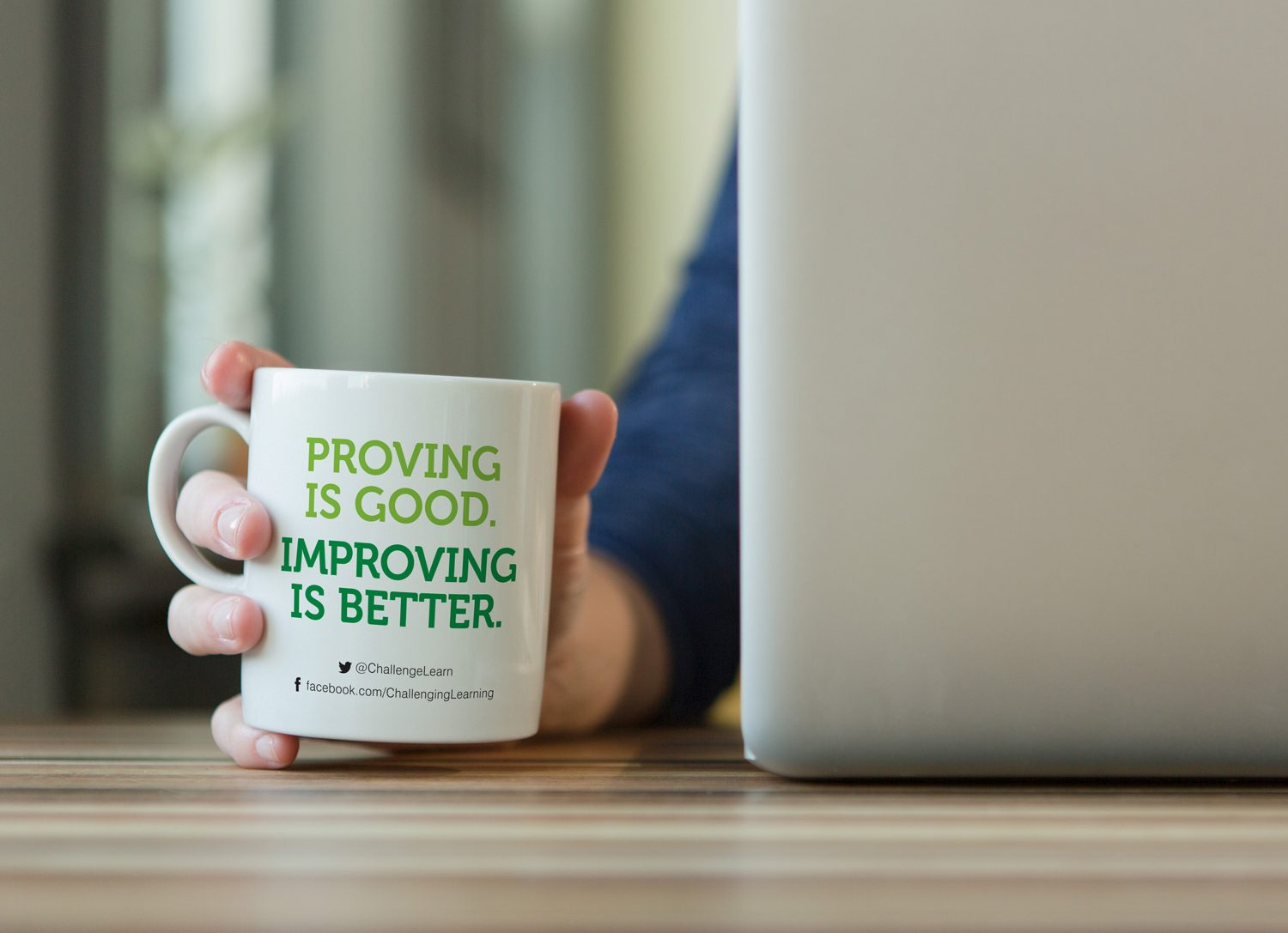 Challenging Learning Branding - Mug