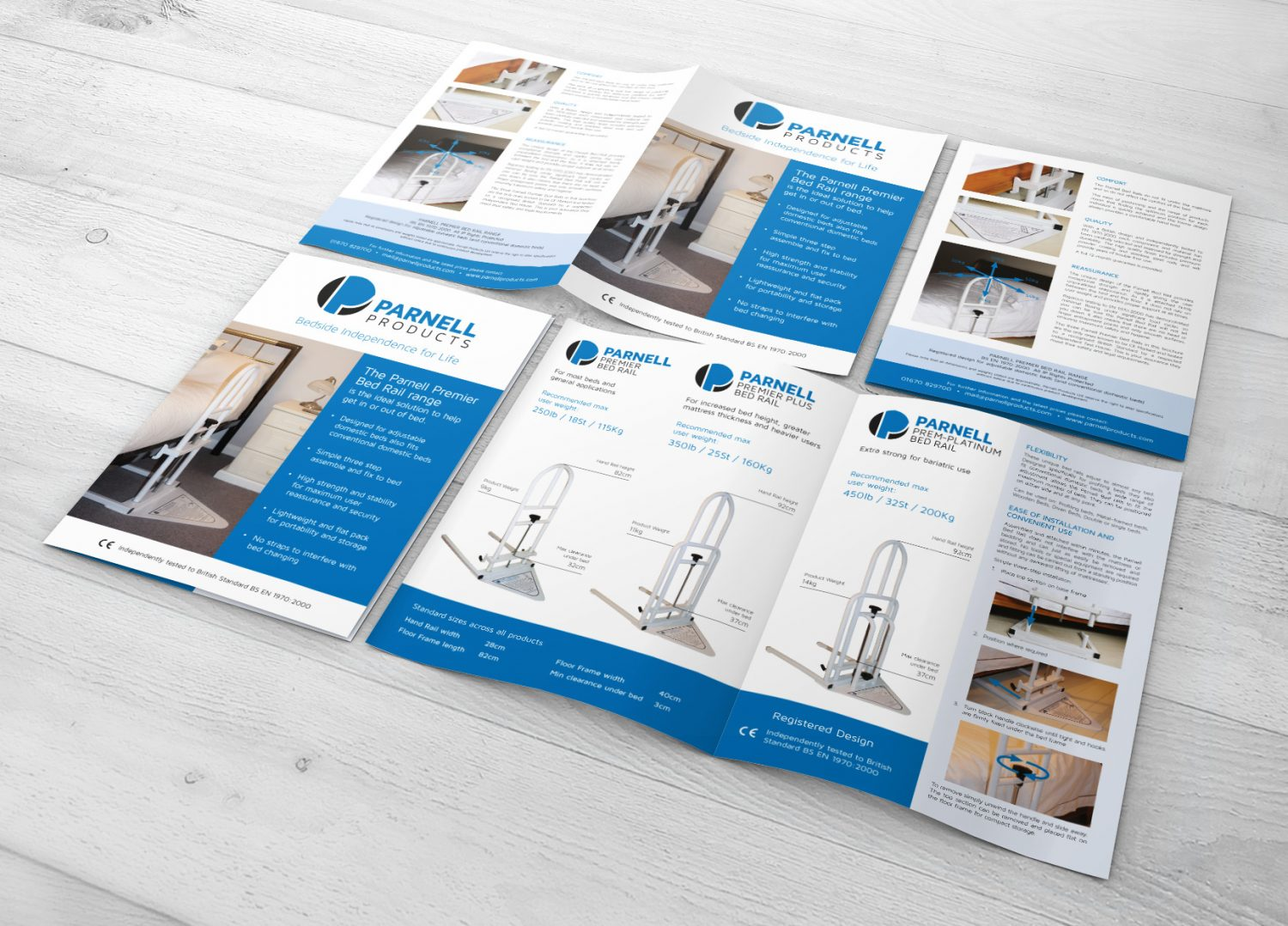 Parnell Products leaflet