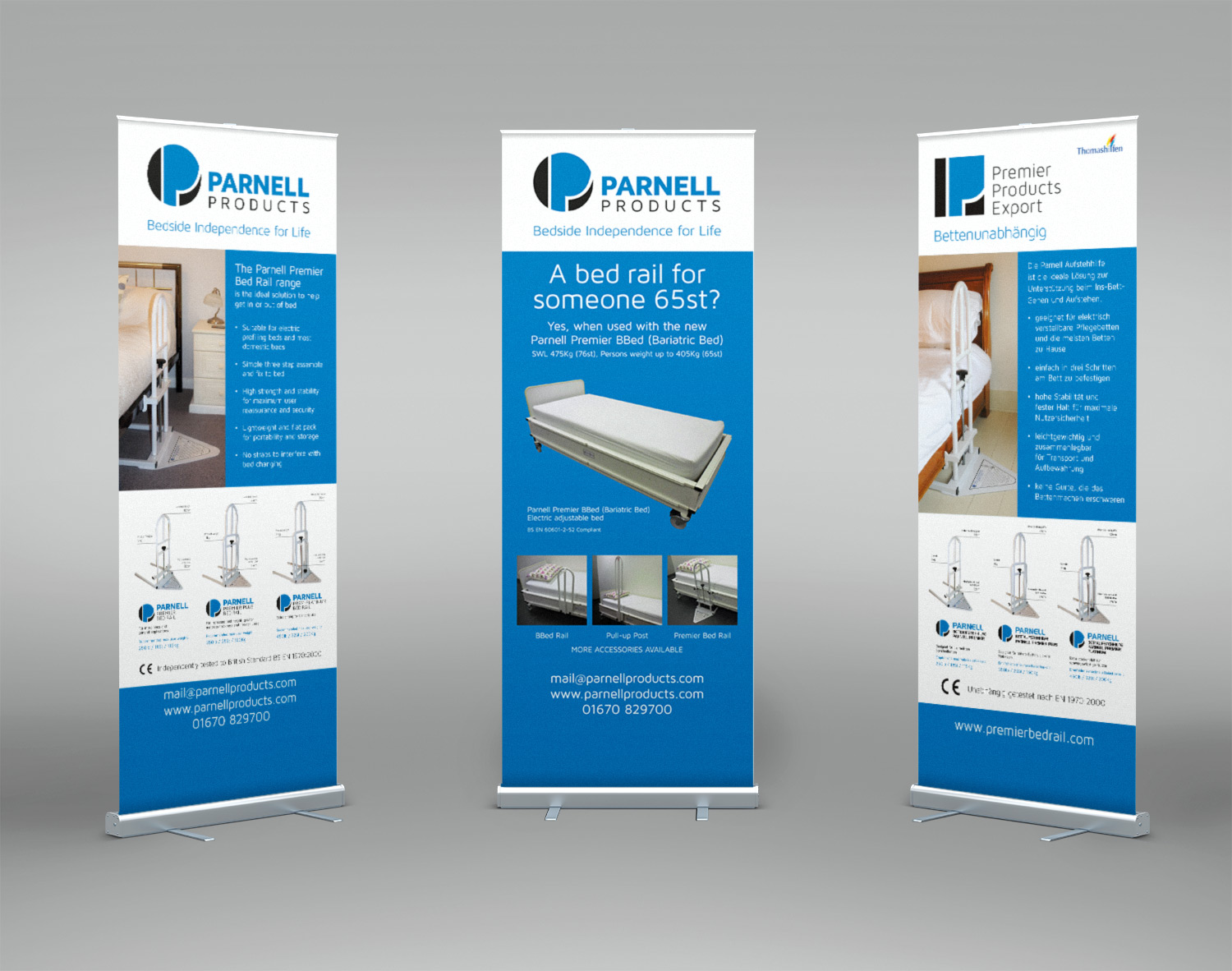 Parnell Products bannerstands