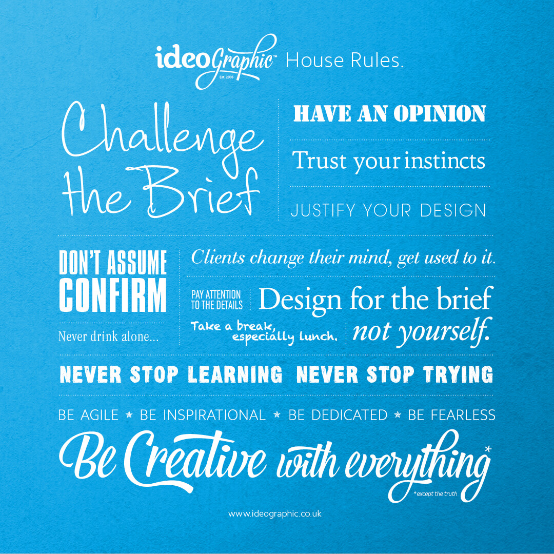 Ideographic House Rules