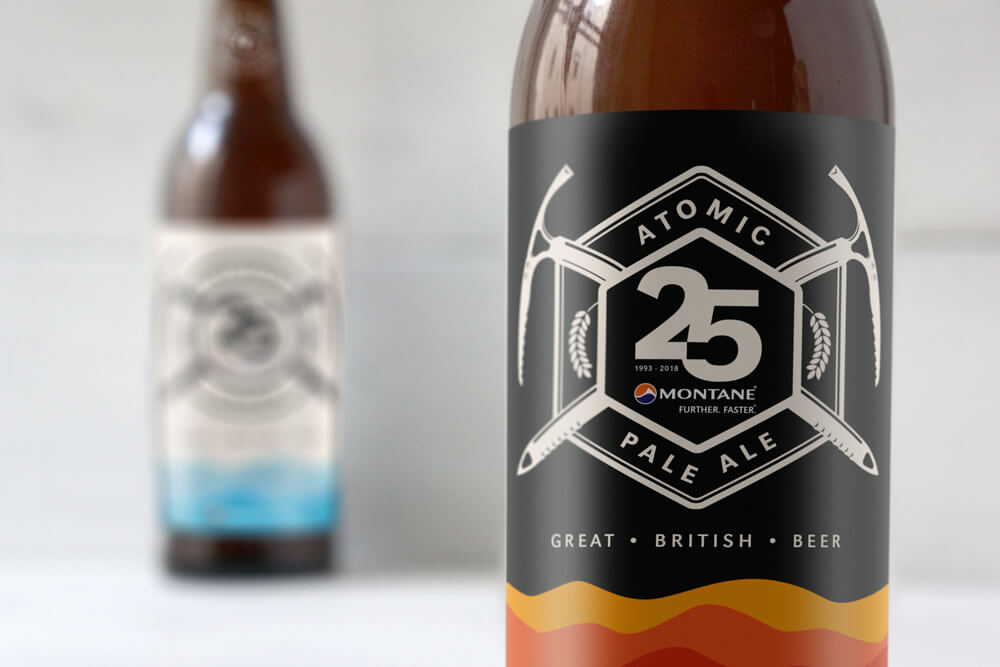 Montane Atomic Pale Ale label