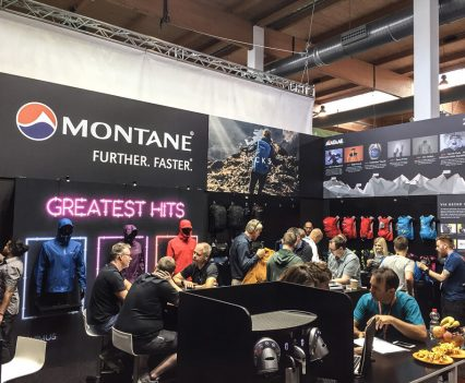 Montane Outdoor 2018 exhibition stand