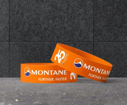 Montane 25 Years branded snapbands