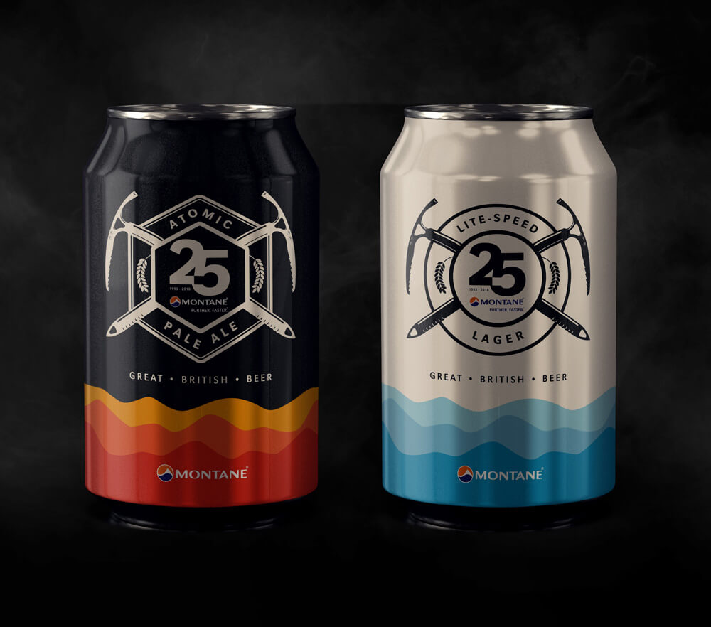 Montane Beer can designs