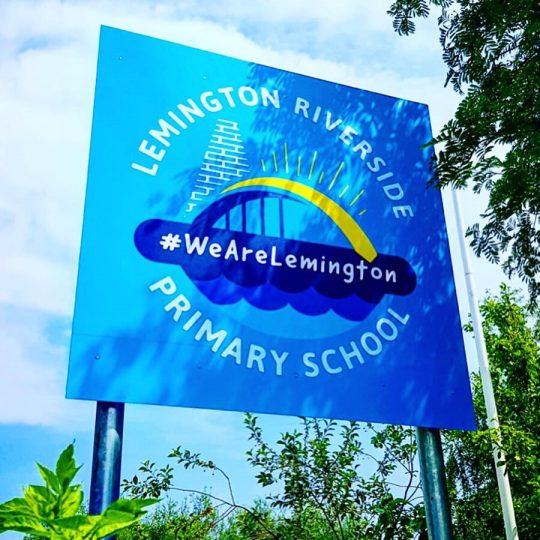 Lemington Riverside Primary School rebrand