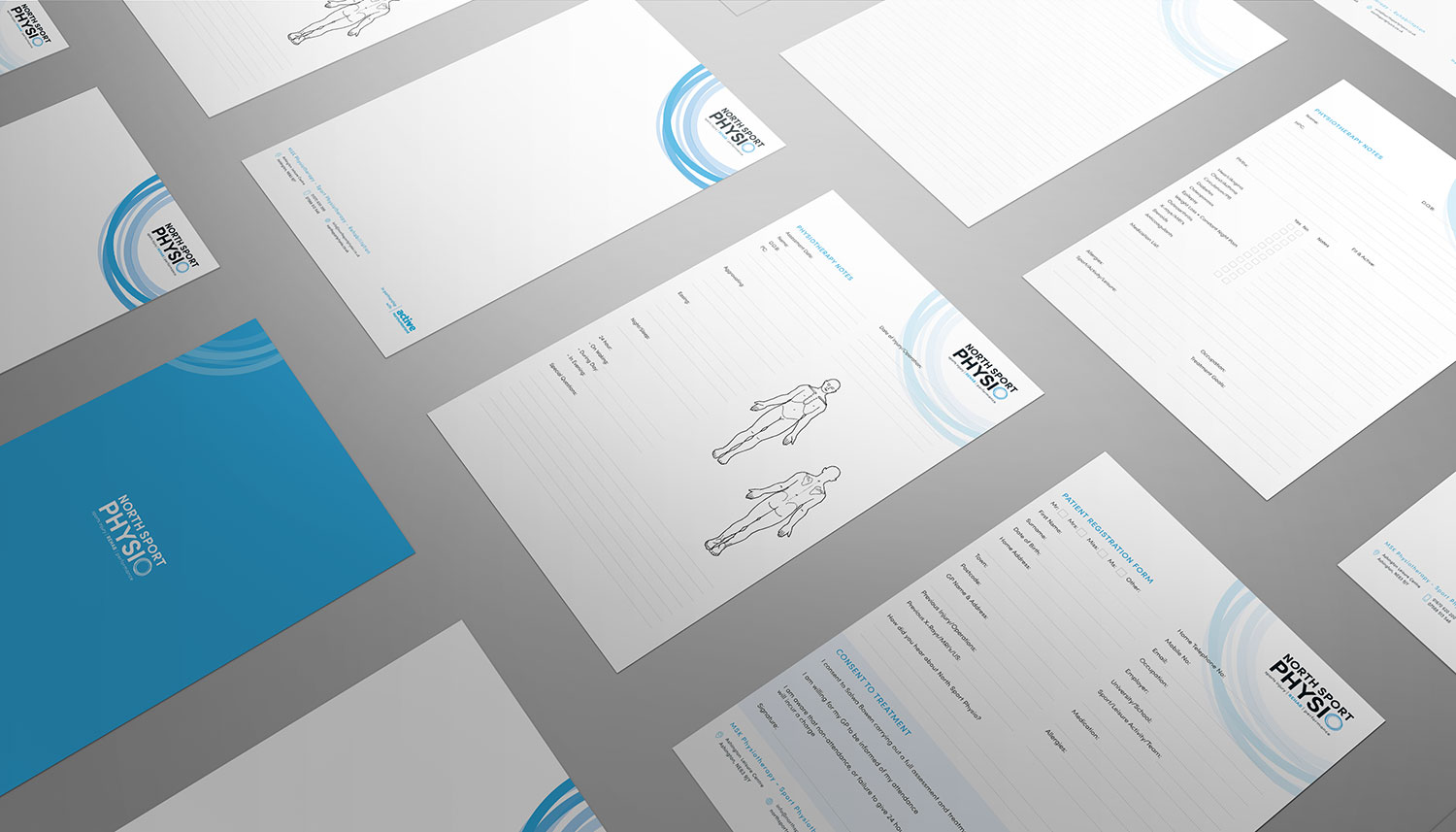 NSP stationery and forms